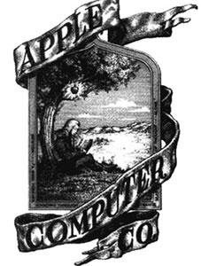 Первый логотип кампании Apple