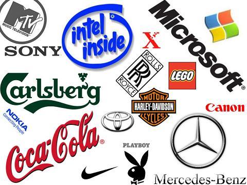 Известные мировые бренды