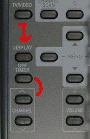Плохое расположение кнопок на пульте