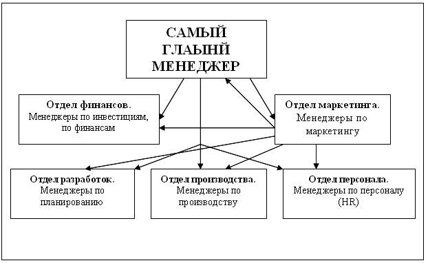 Структура маркетинга и менеджмента