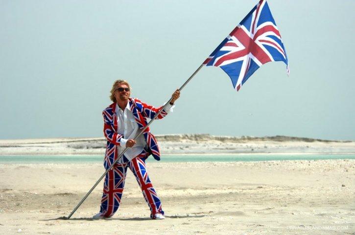 Бренсон прославляет Великобританию