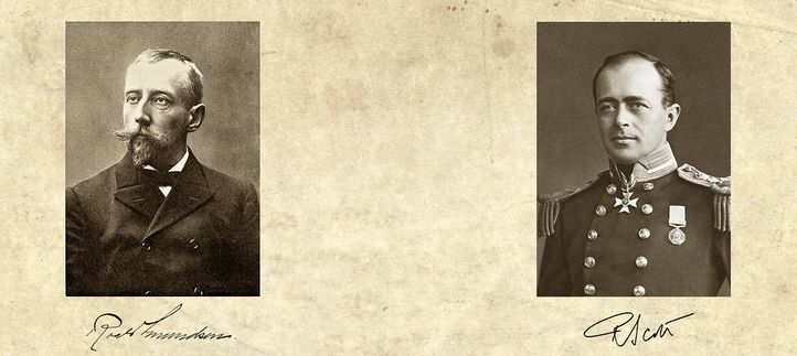Рауль Амундсен и капитан Скотт